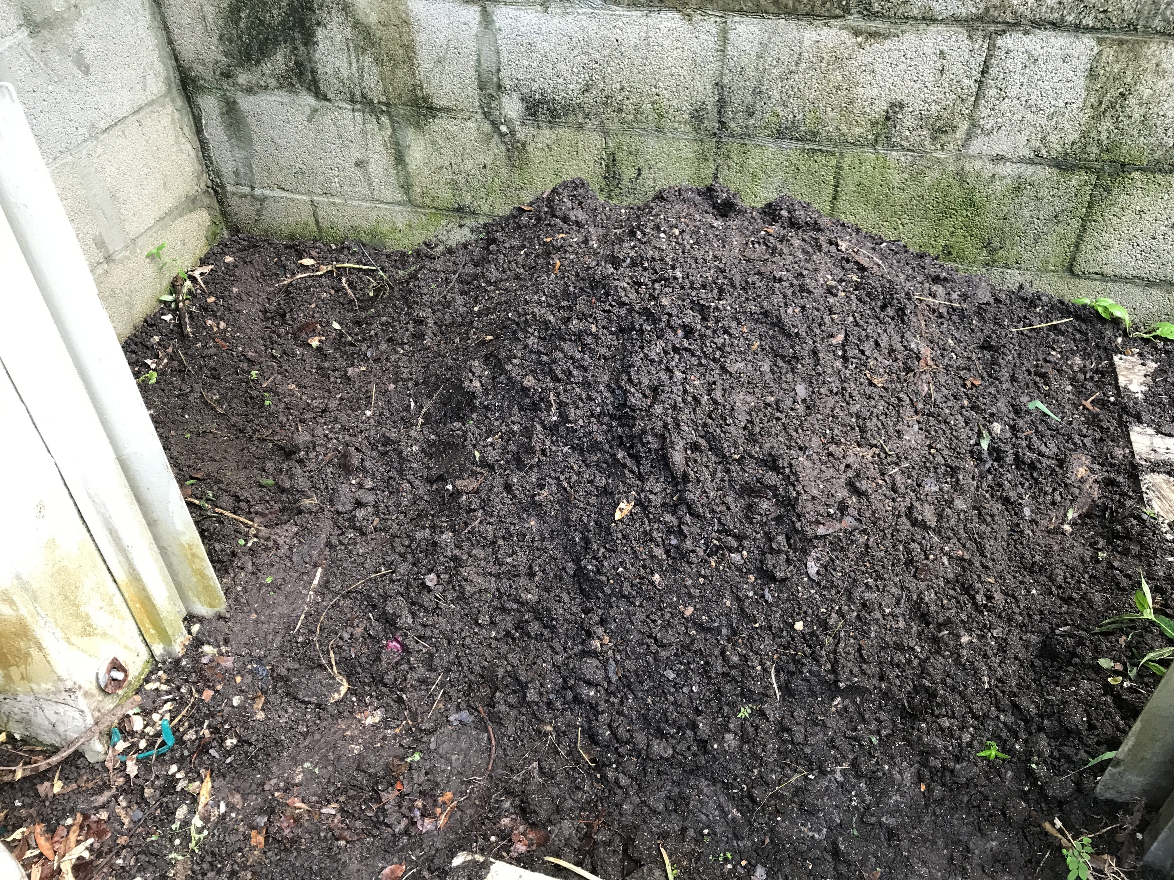How to make a compost pile in florida