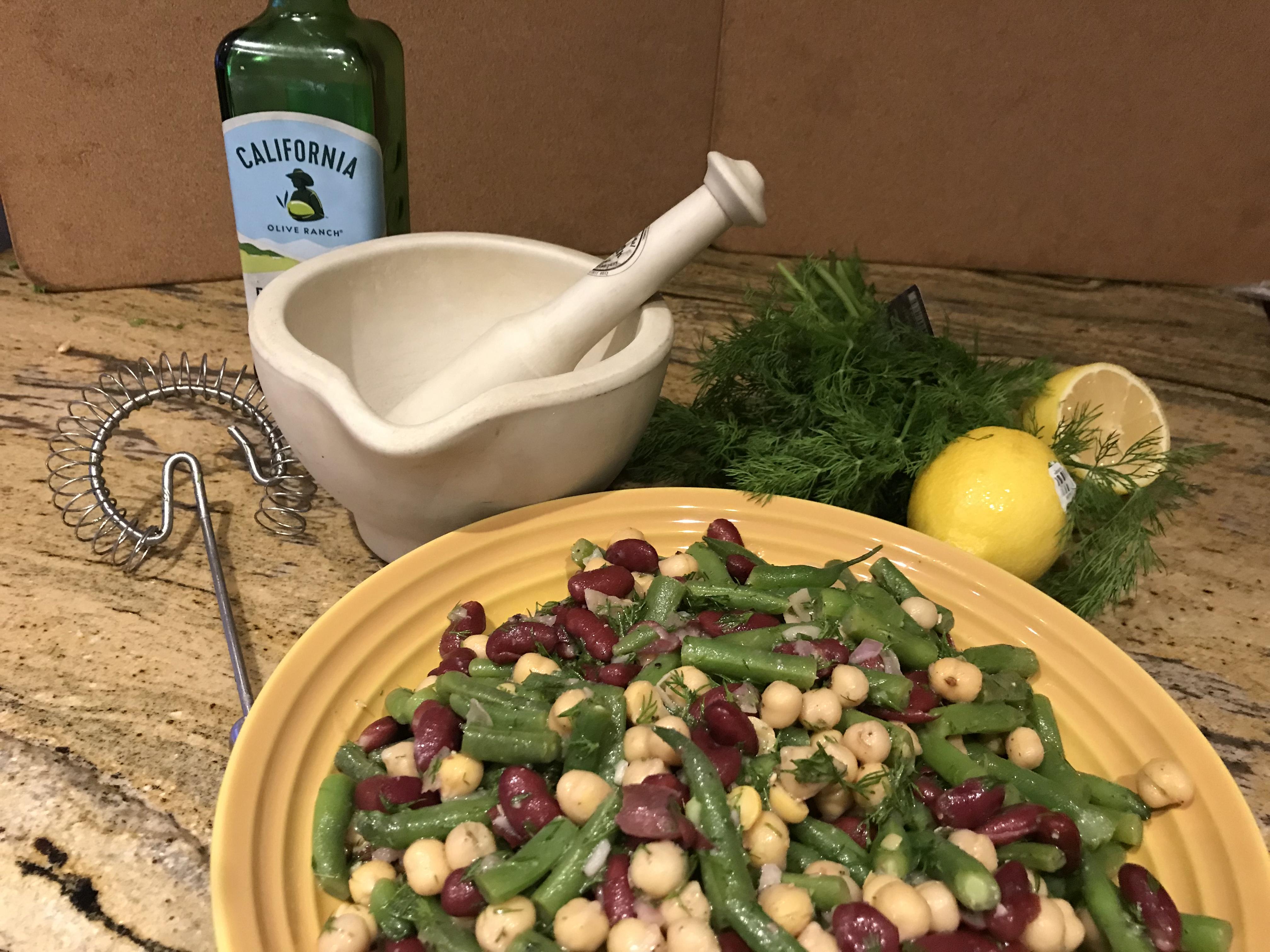 A Fresh Take on Three Bean Salad • South Florida Gardening